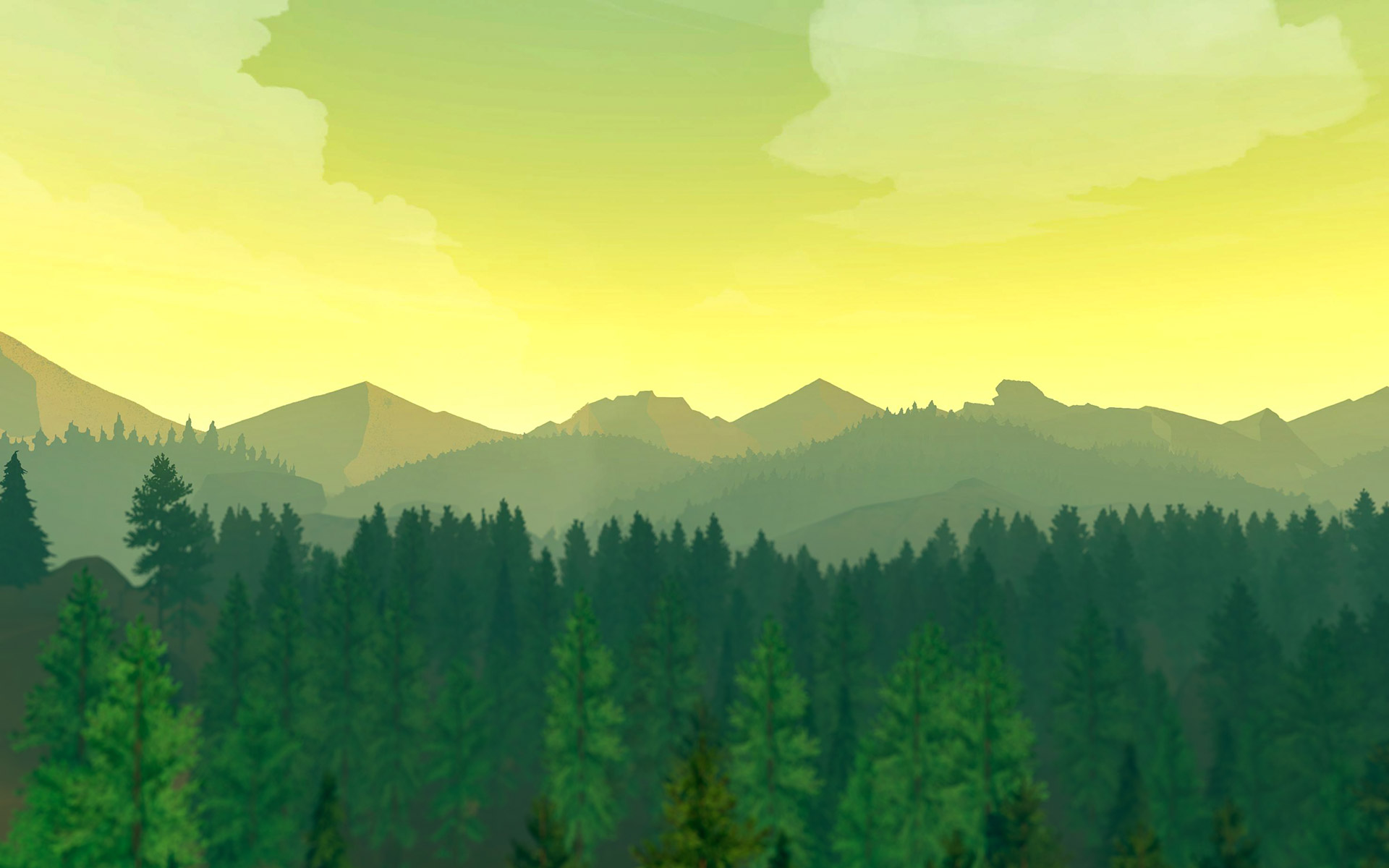 firewatch bridges virtual  real worlds