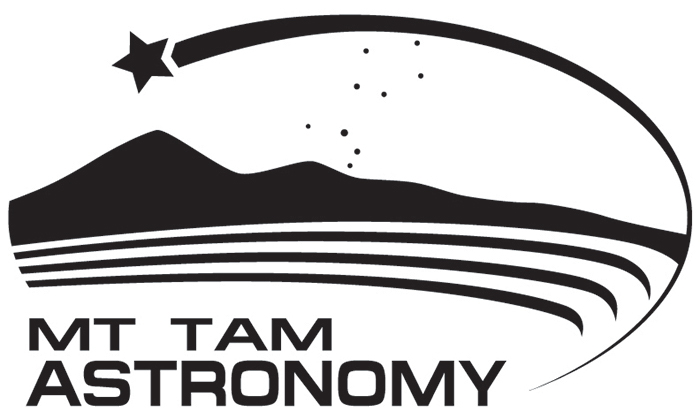 mt tam astronomy programs logo black and white