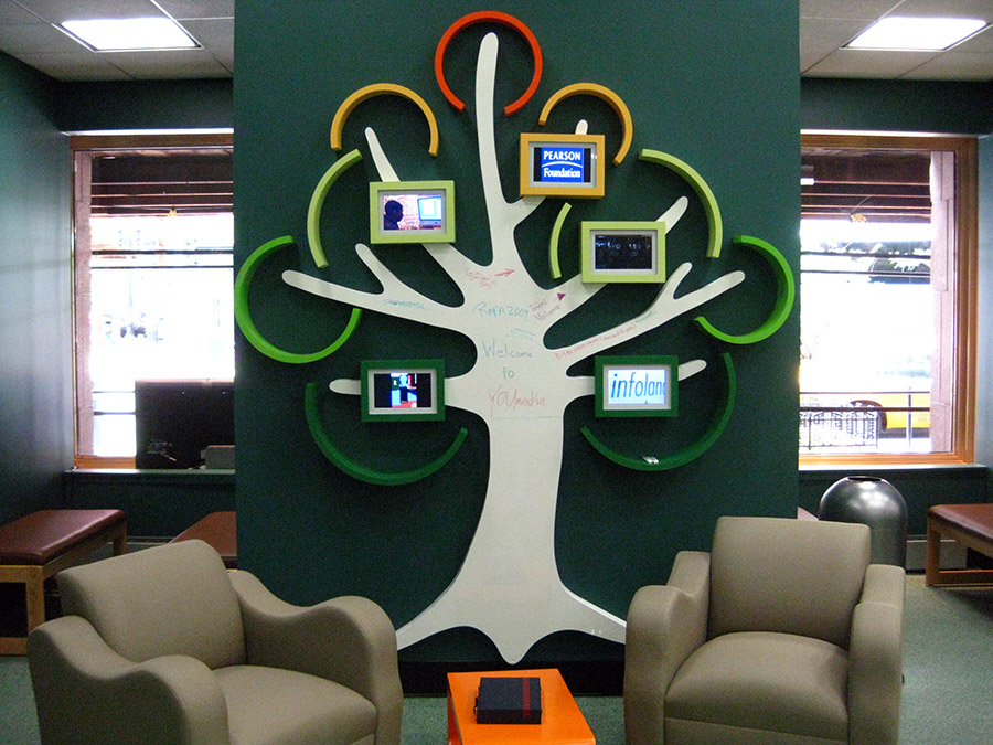 youmedia whiteboard picture frame tree