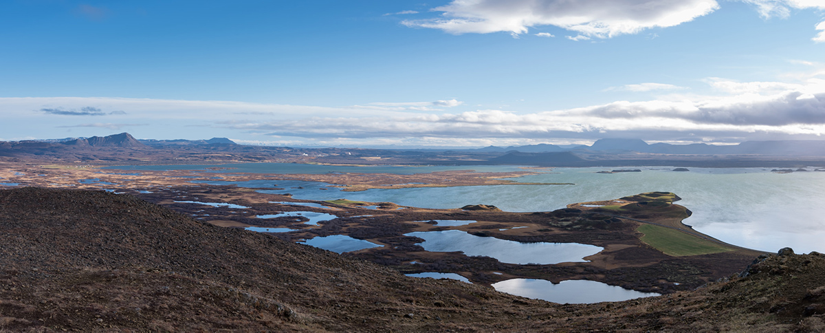 lake myvatn panorama