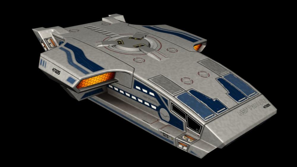 Passenger ferry spacecraft
