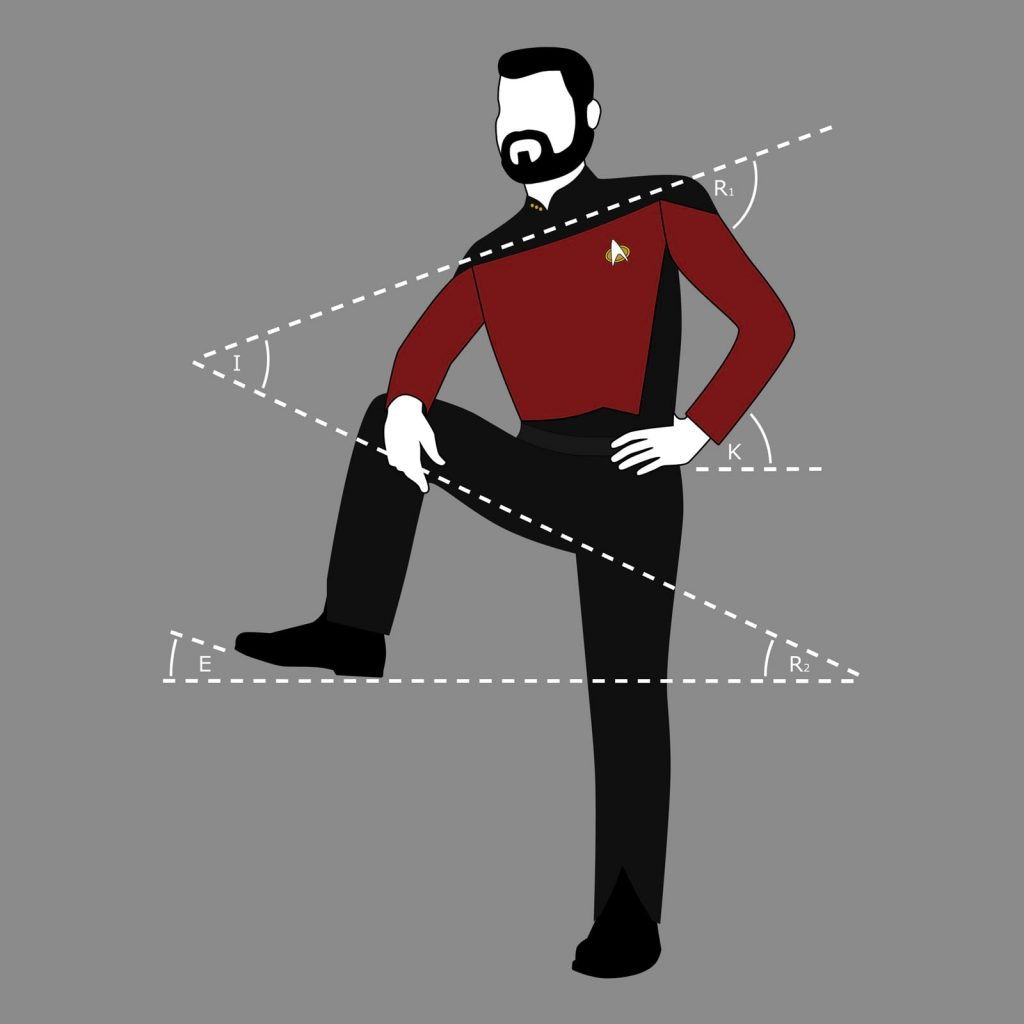 Riker Lean t-shirt design